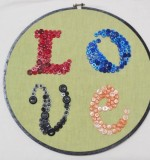 Button Crafts Created By  Posted By Flutterbysqatar