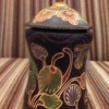 Wooden batik ornament with lid Created By  Posted By kartini