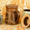 Pottery Tankers Created By  Posted By Rhinestone Art Pottery