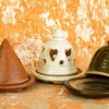 Pottery Incense Burners Created By  Posted By Rhinestone Art Pottery
