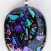 Dichroic Glass Earings Created By  Posted By Sue Akers