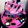 Makeup Themed Cake Images : Makeup Themed Cakes images