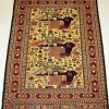 Qatar Collections Malaki Kilim All Wool With Family Pattern
