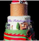 Christmas cake Created By  Posted By The Fabulous Cake