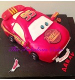 3D McQueen Cake Created By The Fabulous Cake Posted By The Fabulous Cake