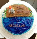 Gone Fishing cake Created By  Posted By The Fabulous Cake