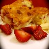 White chocolate and strawberry brownies Created By  Posted By The Baking Studio