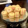 Rose macarons Created By  Posted By The Baking Studio