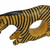 Wooden hand carved African Zebra Napkin Ring Created By  Posted By B. Lilian Wahu