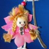 Cute fairy bookmark Created By  Posted By Pink Pepper Craft Studio