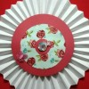 large flower Created By  Posted By Pink Pepper Craft Studio
