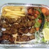 Stick Meat Kebab plate Created By  Posted By Antakya Barbeque Pastries & Bukhara