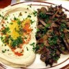 hummus with shawarma Created By  Posted By Marmaris Restaurant