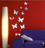 Acrylic Mirror Sticker Birds Created By  Posted By Wall Art
