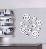 Acrylic Mirror Sticker Circles Created By  Posted By Wall Art