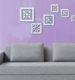 Acrylic Mirror Sticker Square Created By  Posted By Wall Art