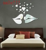 Acrylic Mirror Sticker Lips Created By  Posted By Wall Art