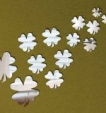 Acrylic Mirror Sticker Flowers Created By  Posted By Wall Art