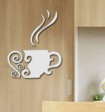 Acrylic Mirror Sticker Cup Created By  Posted By Wall Art