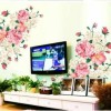 Wall Art Stickers Qatar : Qatar collections flower wall decals