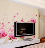 Flower Wall Stickers Created By  Posted By Wall Art