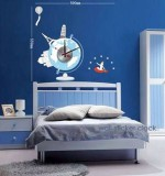Wall clock Sticker Created By  Posted By Wall Art