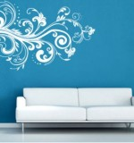 White Wall Stickers Created By  Posted By Wall Art