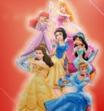 Cartoon Characters Princess Wall Sticker Created By  Posted By Wall Art