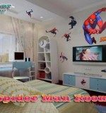 Cartoon Characters Spider Man Room Created By  Posted By Wall Art