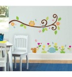 Owl branch Wall Sticker Created By  Posted By Wall Art
