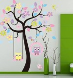 Owl Tree Created By  Posted By Wall Art