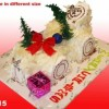 Christmas Cake Vanilla Created By  Posted By Eli France Sweets And Coffee Shop