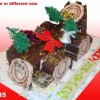 Christmas Cake Choclotate Created By  Posted By Eli France Sweets And Coffee Shop