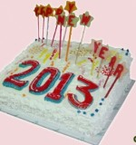 NEW YEAR CAKE Created By  Posted By Eli France Sweets And Coffee Shop