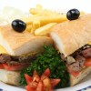 NORMANDY STEAK SANDWICH Created By  Posted By Eli France Sweets And Coffee Shop