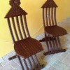 Solid Rosewood hand carved folding chairs Created By  Posted By Z's Treasure