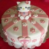 Hello Kitty Cake Created By  Posted By Easy Partys