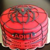 Spiderweb Cake Created By  Posted By Easy Partys
