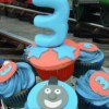 Thomas The Train Cup Cakes Created By  Posted By Easy Partys