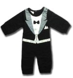 Tuxedo romper Created By  Posted By King B & Bumblebree's Costumery