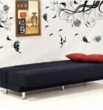 Black Flower Vine Created By  Posted By Big N Small Wall Decals