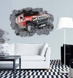 Car Crash Created By  Posted By Big N Small Wall Decals