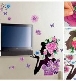 Flowers In Her Hair Created By  Posted By Big N Small Wall Decals
