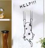 Helpless Cat Created By  Posted By Big N Small Wall Decals