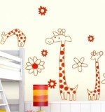3 Giraffes Created By  Posted By Big N Small Wall Decals