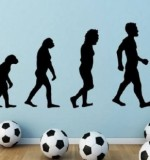 Football Evolution Created By  Posted By Big N Small Wall Decals
