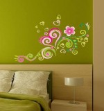 Pink Flower Vine Created By  Posted By Big N Small Wall Decals