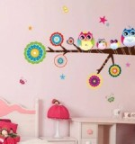 Owl Family on a branch Created By  Posted By Big N Small Wall Decals