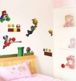 Super Mario Brothers Created By  Posted By Big N Small Wall Decals