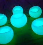 Luminous Tables Created By Omar Blawny Posted By Blawni Events